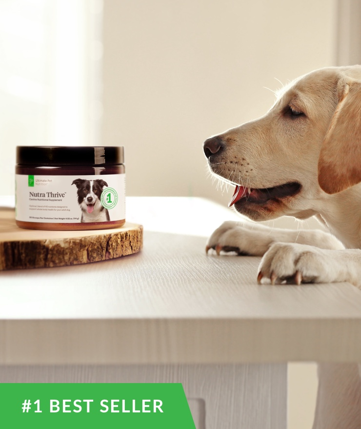 Ultimate Pet Nutrition - Nutra Thrive for Dogs
