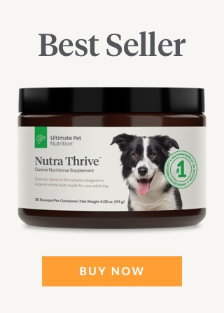 ultimate pet nutrition nutra thrive banner