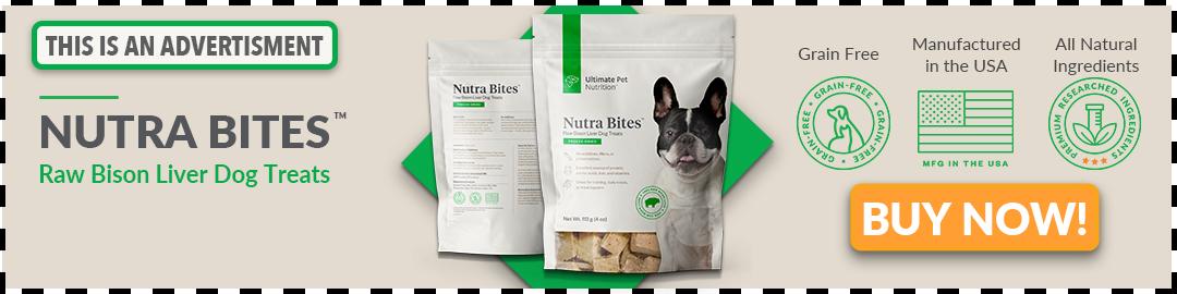 Nutra Bites Dog Treats Banner