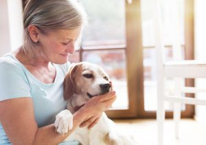 woman with dog | Ultimate Pet Nutrition
