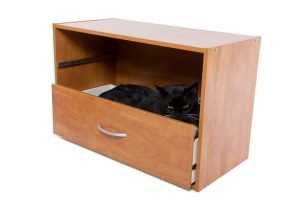 DIY cat cabinet | Ultimate Pet Nutrition