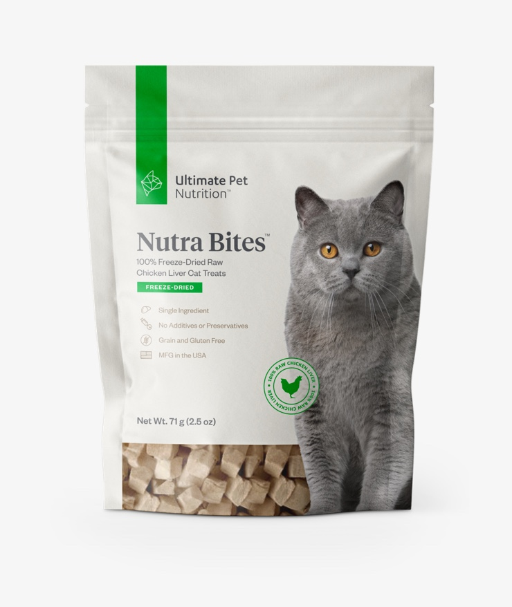 Ultimate Pet Nutrition - Nutra Bites for Cats