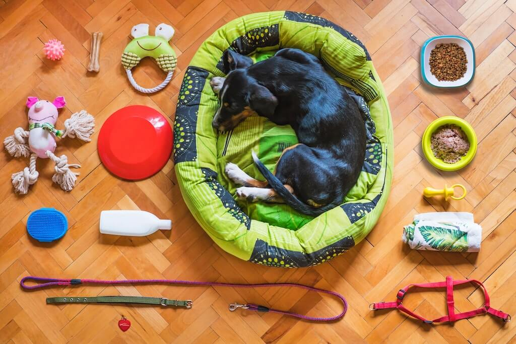 organizing dog supplies | Ultimate Pet Nutrition