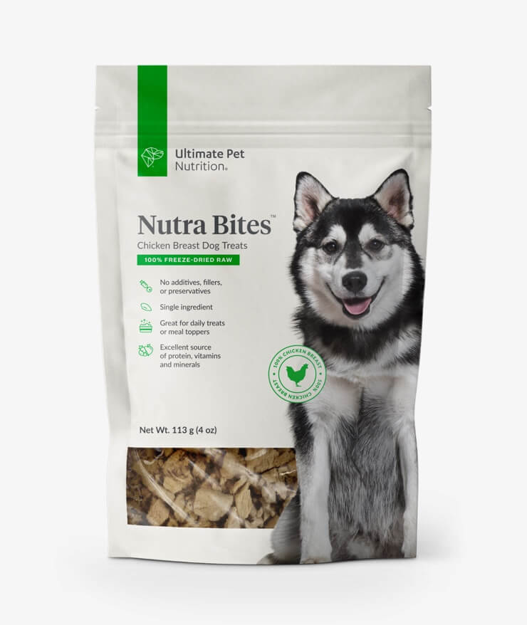 Ultimate Pet Nutrition - Nutra Bites Chicken Breast