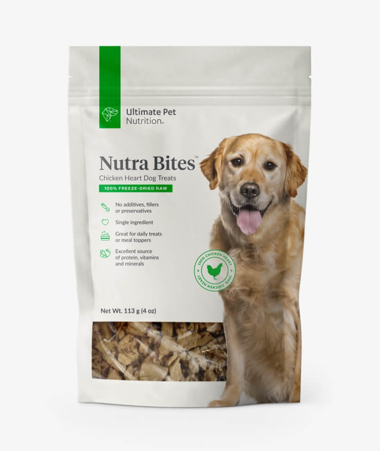 Ultimate Pet Nutrition - Nutra Bites Chicken Heart