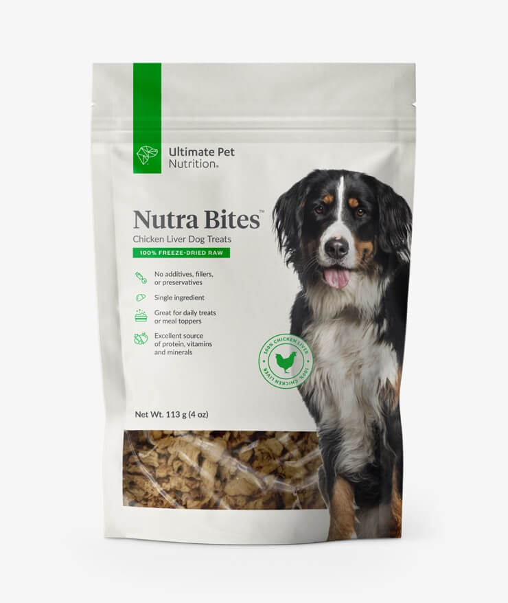 Ultimate Pet Nutrition - Nutra Bites Chicken Liver For Dogs