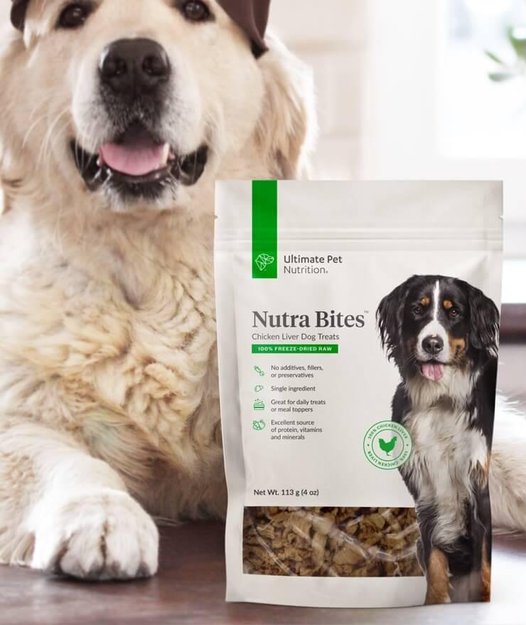 Ultimate Pet Nutrition - Nutra Bites Chicken Liver