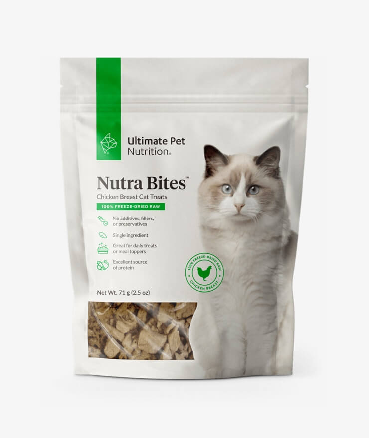 Ultimate Pet Nutrition - Nutra Bites Chicken Breast For Cats