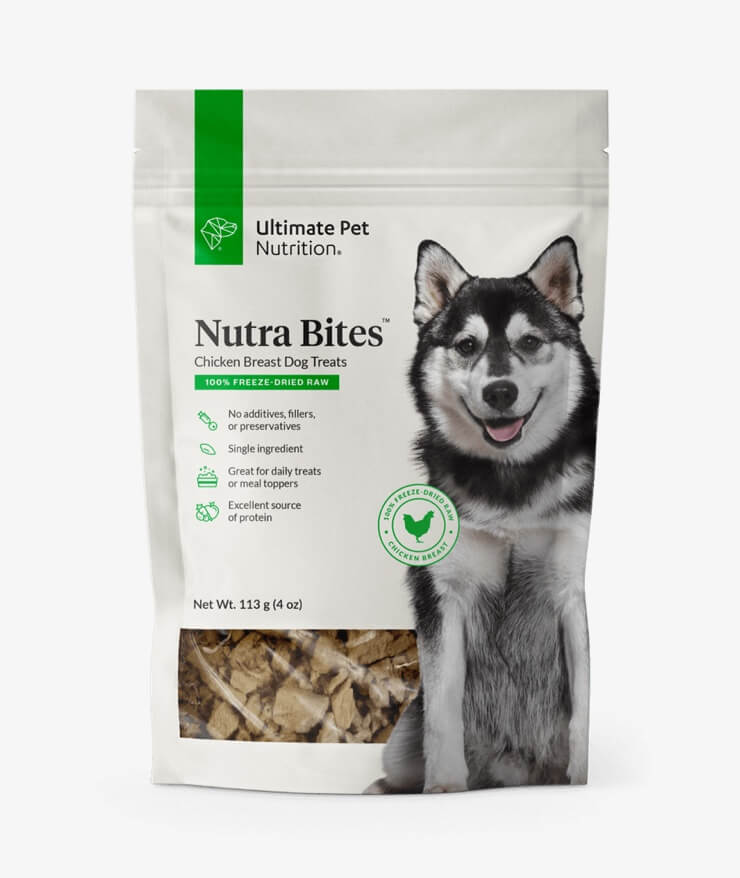 Ultimate Pet Nutrition - Nutra Bites Chicken Breast