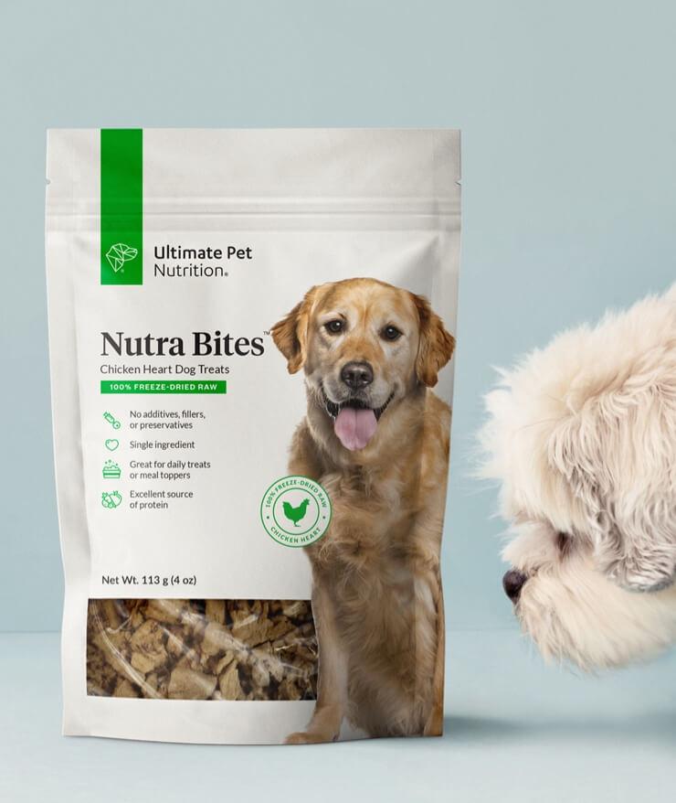 Ultimate Pet Nutrition - Nutra Bites Chicken Heart