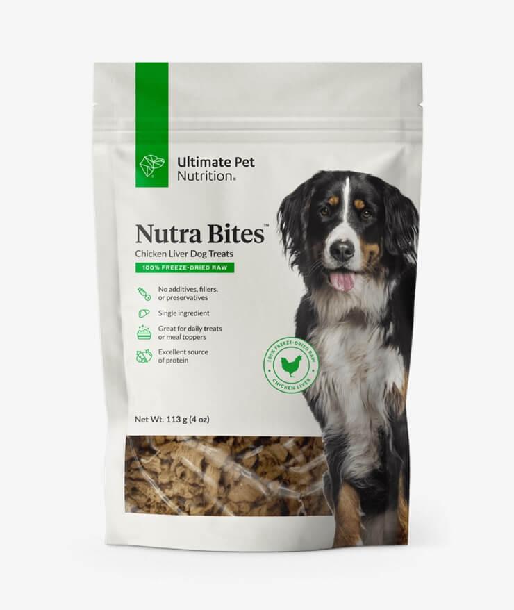 Ultimate Pet Nutrition - Nutra Bites Chicken Liver For Dogs